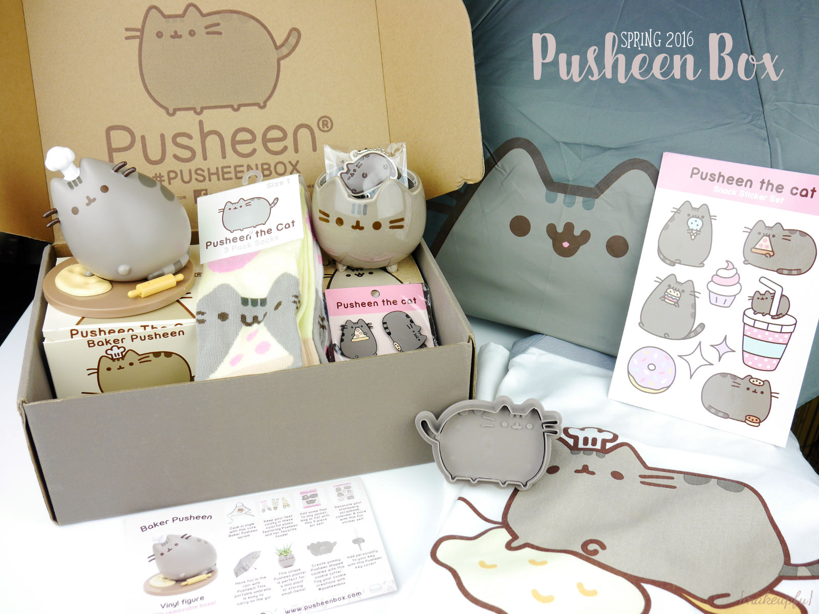 Pusheen Wallpaper Fall Pusheen Box Spring 2016 Review Makeupfu