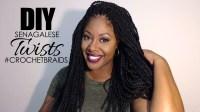 Senegalese Twists: Crochet Braids Braid  Makeup by Mesha