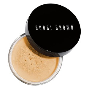 Bobbi Brown Sheer Finish Loose Powder for applying foundation perfectly