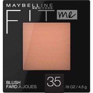 Maybelline New York Fit Me Blush to apply