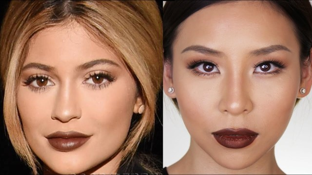 Asian Eyes Makeup Kylie Jenner Fall Makeup Tutorial Great For Hooded Or Asian Eyes