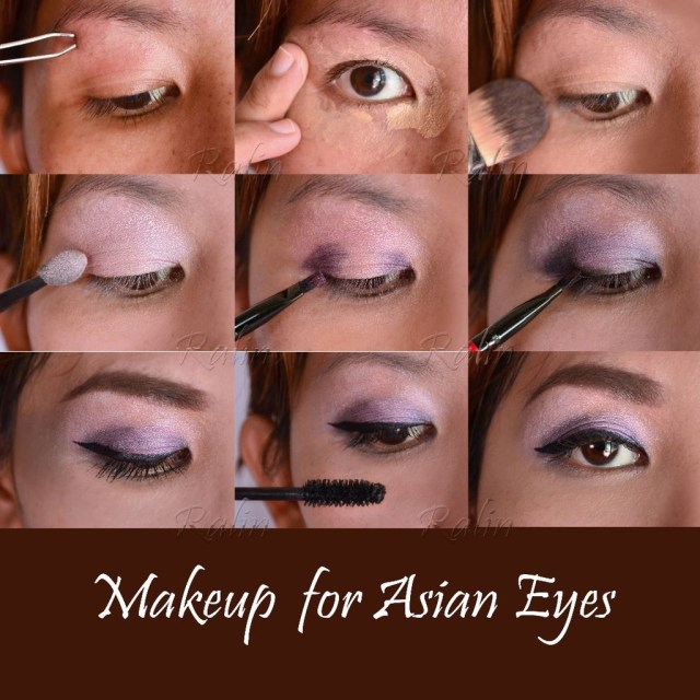 Asian Eyes Makeup Makeup For Asian Eyes 10 Steps With Pictures