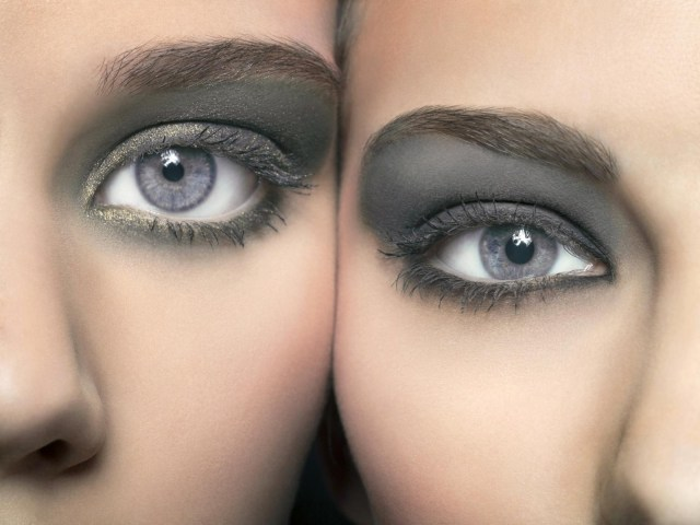 Black And Silver Eye Makeup Eye Makeup For Grey Eyes Lovetoknow