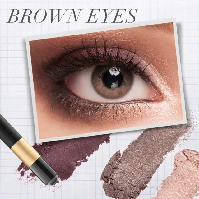 Black And Silver Eye Makeup The Best Eye Makeup For Blue Green Brown Eyes Jane Iredale
