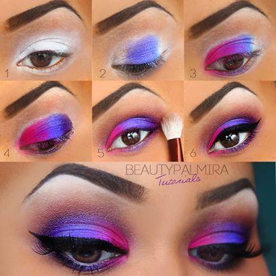 Bright Color Eye Makeup Bright Colors Eye Makeup Evana Eva Musely