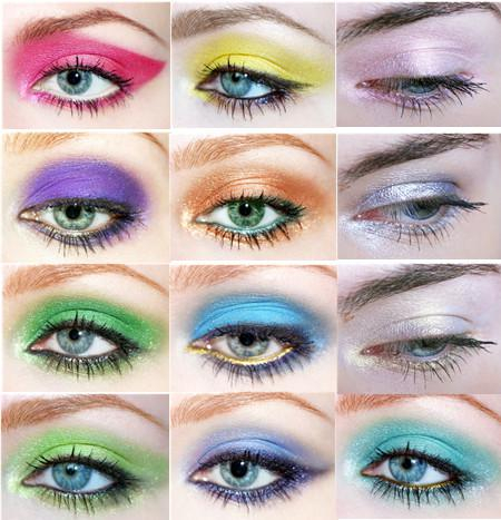 Bright Color Eye Makeup Magic Bright Color Eyeshadow Eye Shadow Powder Chromophous
