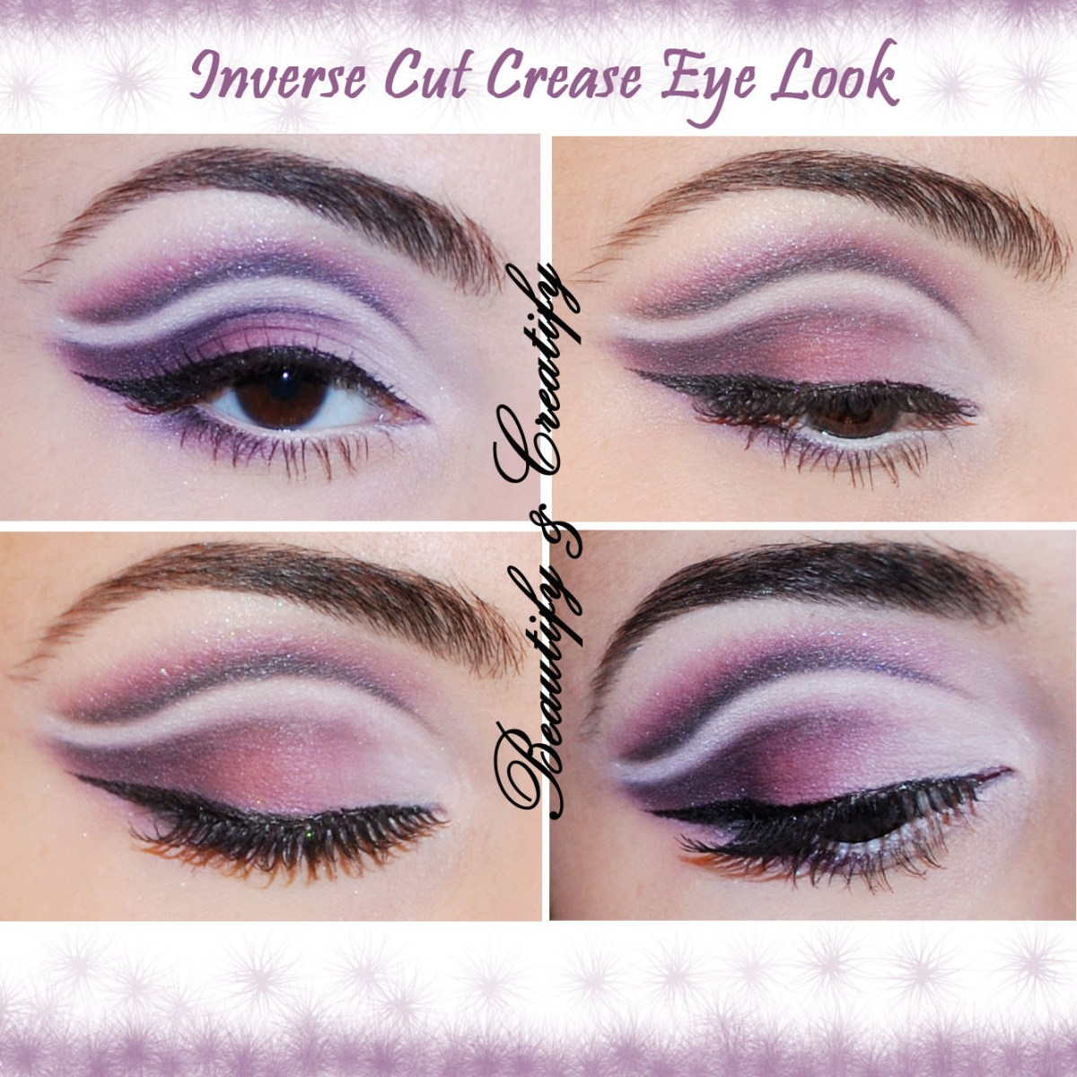 Cut Crease Eye Makeup Inverse Cut Crease Eye Look