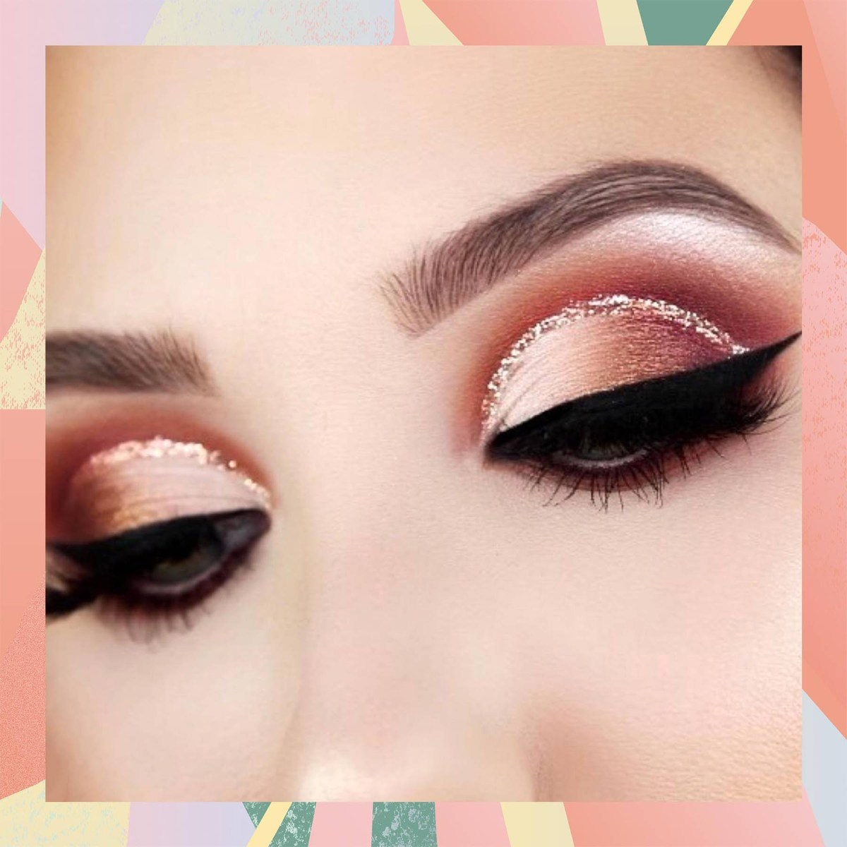 Cut Crease Eye Makeup The Latest Cut Crease Trends How To Tutorial Glamour Uk