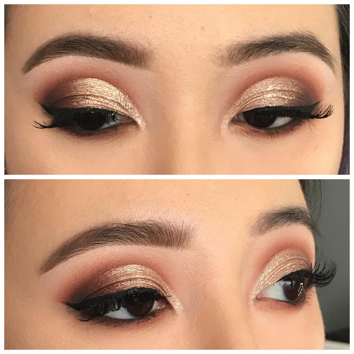 Cut Crease Eye Makeup Took A Makeup Class And Learnt How To Do A Cut Crease On Asian Eyes