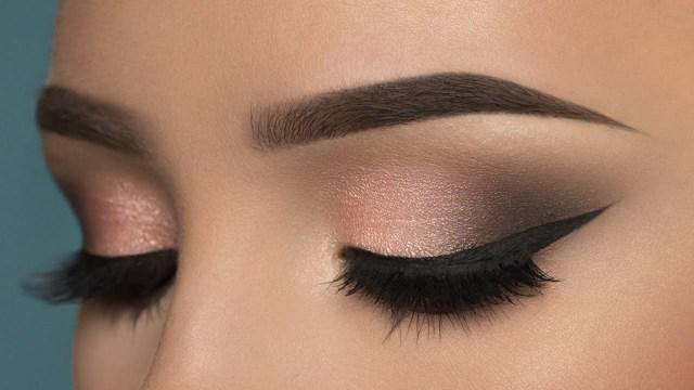 Dark Eyes Makeup Soft Rosy Smokey Eye Makeup Tutorial Youtube