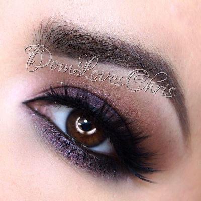 Deep Purple Eye Makeup Deep Purple Eyeshadow Tutorial Amazingmakeups