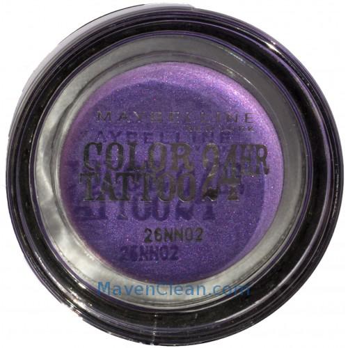 Deep Purple Eye Makeup Maybelline Eye Shadows 45 Eyestudio Color Tatoo 15 Deep Purple 45 G