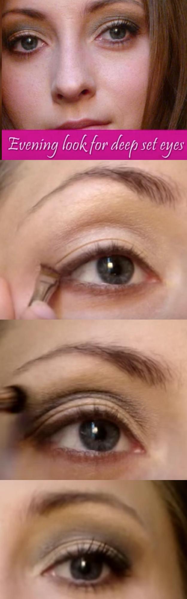 Deep Set Hooded Eyes Makeup 32 Best Makeup Tips For Deep Set Eyes The Goddess