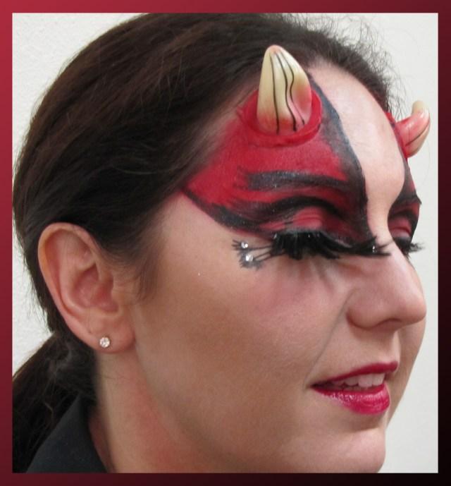 Devil Costume Eye Makeup The Deviant Devil Scentsa