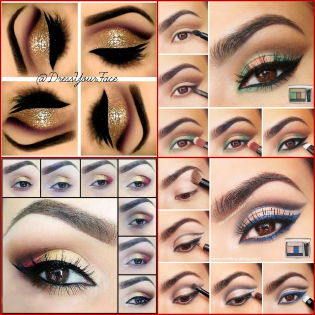 Easy Evening Eye Makeup Perfect Makeup For Brown Eyes Day Night Evening