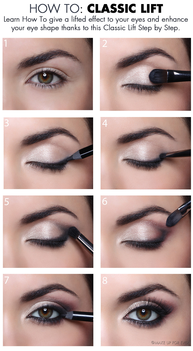 Eye Makeup For Small Eyelids How To Give A Classic Lift To Your Eyes Alldaychic