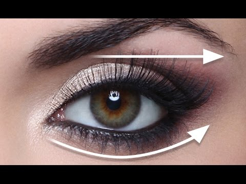 Eye Makeup For Small Eyelids The Straight Line Technique For Hooded Eyes Full Demo Youtube