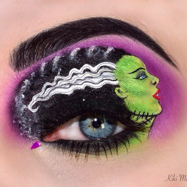 Halloween Eye Makeup Halloween Eye Art Makeup Popsugar Beauty