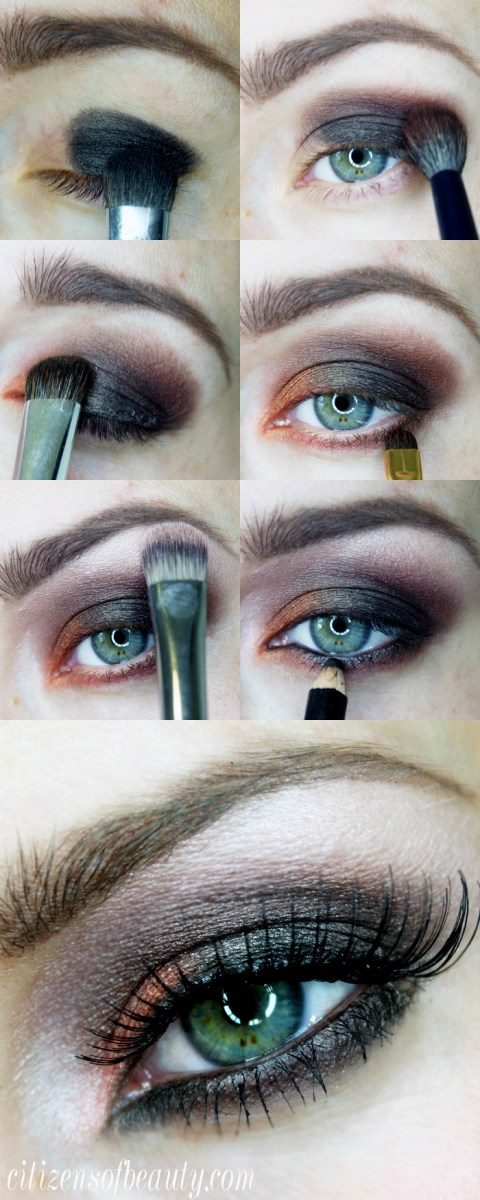 Halloween Eye Makeup Orange And Black Halloween Eyeshadow Design Citizens Of Beauty
