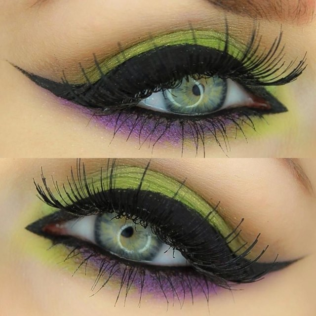 Halloween Eye Makeup Spellbound Halloween Witch Eye Make Up Tutorial The Classic
