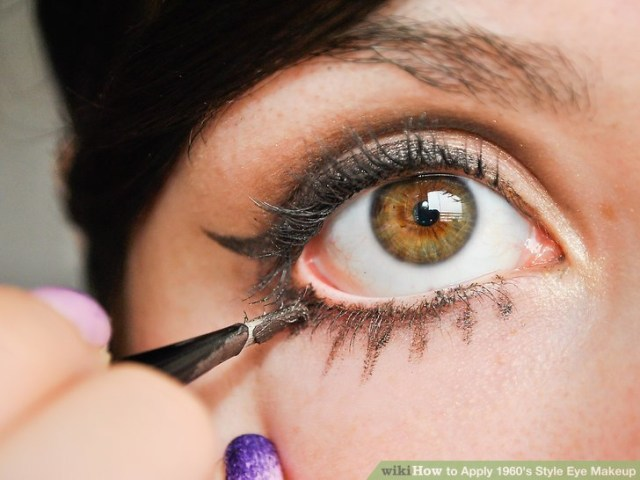 How To Do 60S Eye Makeup 4 Ways To Apply 1960s Style Eye Makeup Wikihow