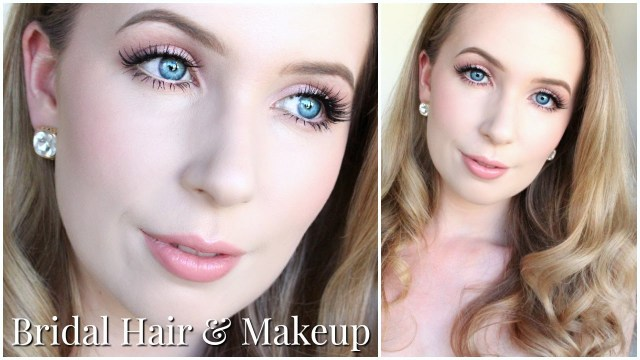 How To Do Makeup For Blonde Hair Blue Eyes Bridal Hair Makeup For Very Pale Skin Blue Eyes Youtube