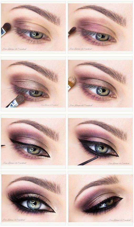 Light Brown Smokey Eye Makeup 15 Smokey Eye Tutorials Step Step Guide To Perfect Hollywood Makeup