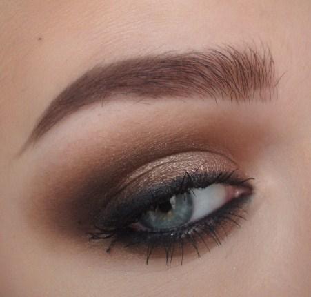 Light Brown Smokey Eye Makeup Makeuploversunite Love This Blog Normally I Wear Really Light