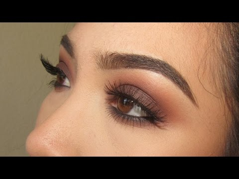 Light Brown Smokey Eye Makeup Warm Brown Smokey Eye Kat Von D Shade And Light Eye Palette Youtube