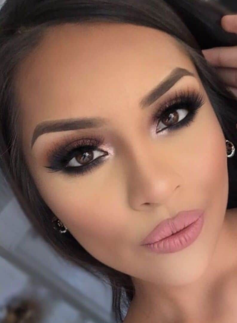 light makeup for brown eyes wedding makeup for brown eyes