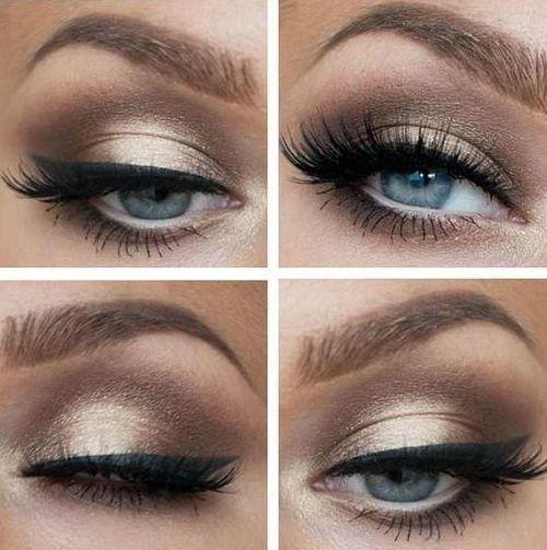 Makeup Colors For Blue Eyes Blaue Hochzeit Top 10 Colors For Blue Eyes Makeup 2195258 Weddbook
