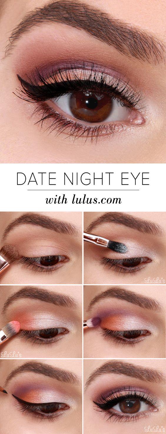 Makeup For Brown Eyes 10 Easy Step Step Makeup Tutorials For Brown Eyes