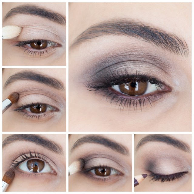 Makeup For Brown Eyes How To Brown Smokey Eye Simply Sona