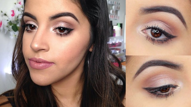 Makeup For Brown Eyes Makeup Tutorial For Brown Eyes For Beginners Youtube