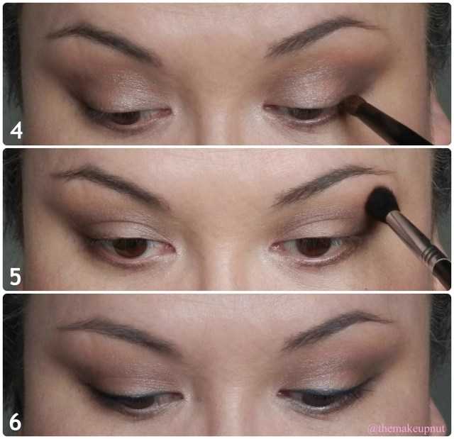 Makeup For Hooded Eyes Everyday Work Look For Hooded Eyes F Lorac Pro Palette Themakeupnut