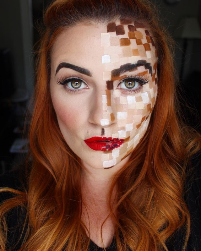 Makeup For Red Hair And Brown Eyes 27 Last Minute Halloween Costumes You Can Do With Just Makeup Allure