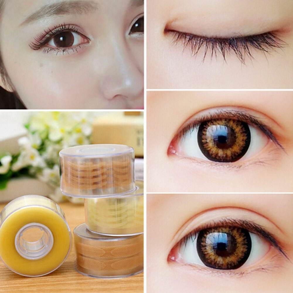 Makeup Tape Eyes 600pcs Narrowwide Double Eyelid Sticker Tape Technical Eye Tapes