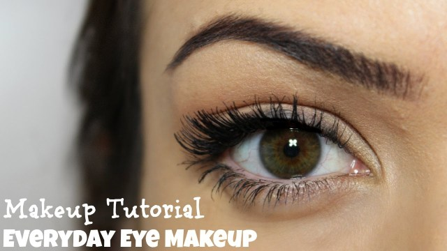 Natural Eye Makeup For Green Eyes Everyday Eye Makeup 5 Steps Makeup Tutorial Youtube