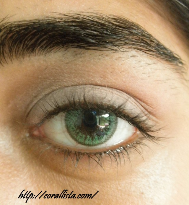 Natural Eye Makeup For Green Eyes Neutral Pink And Brown Office Wear Eye Makeup Step Wise Photo