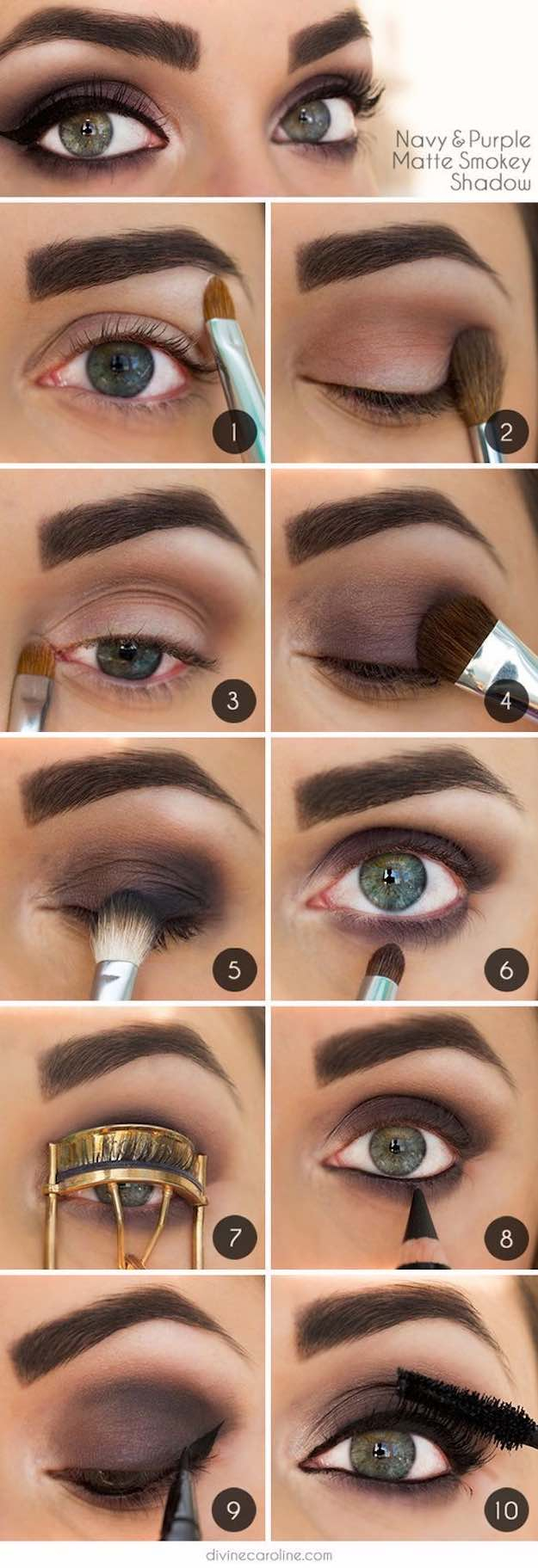 Natural Smokey Eye Makeup 50 Perfect Makeup Tutorials For Green Eyes The Goddess