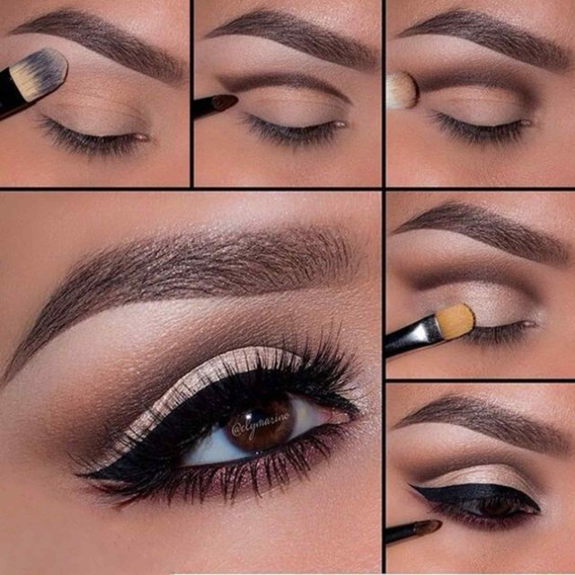 Natural Smokey Eye Makeup Make Up Tutorial For Beginners Step Step Natural Beautiful 5 Step