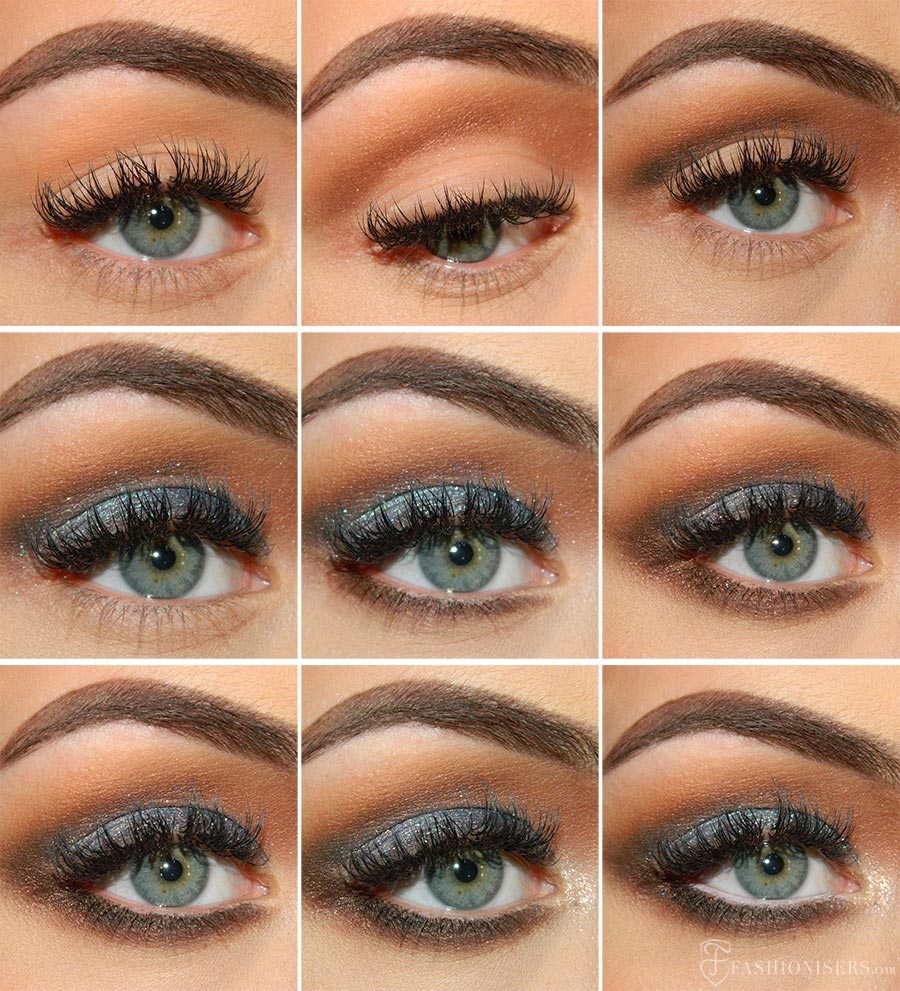 prom makeup tutorial for blue eyes lovely blue prom makeup