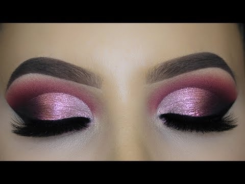 Purple And Gold Smokey Eye Makeup Rose Gold Smokey Eye Makeup Tutorial Eye Makeup Art
