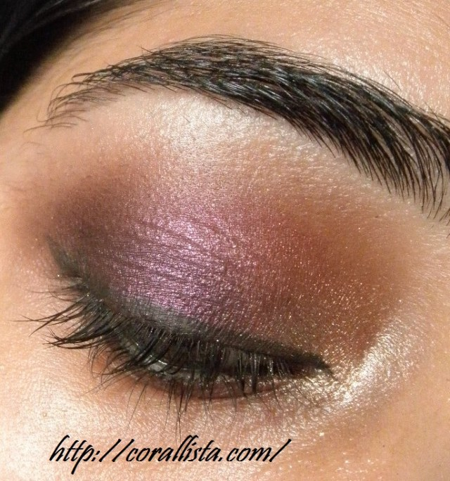 Purple And Gold Smokey Eye Makeup Smokey Purple And Gold Eye Makeup Step Step Tutorial And Fotd