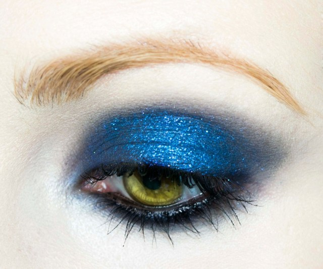 Red And Black Eye Makeup Shirley Mansons Milk Video Look How To Create A Blue Eye Makeup