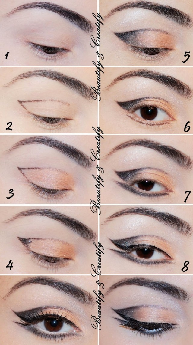 Shaded Eye Makeup Double Shade Eyeliner Tutorial B G Fashion