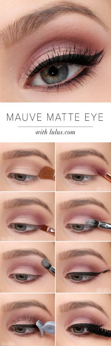 Simple Eye Makeup Tutorial 20 Easy Step Step Eyeshadow Tutorials For Beginners Her Style Code