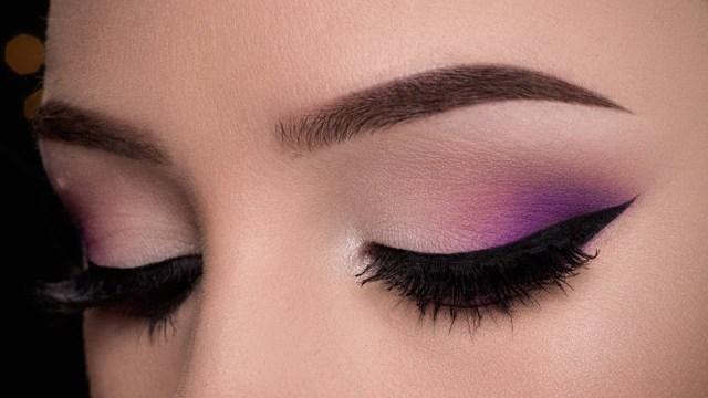 Simple Eye Makeup Tutorial Easy Purple Makeup Tutorial Youtube