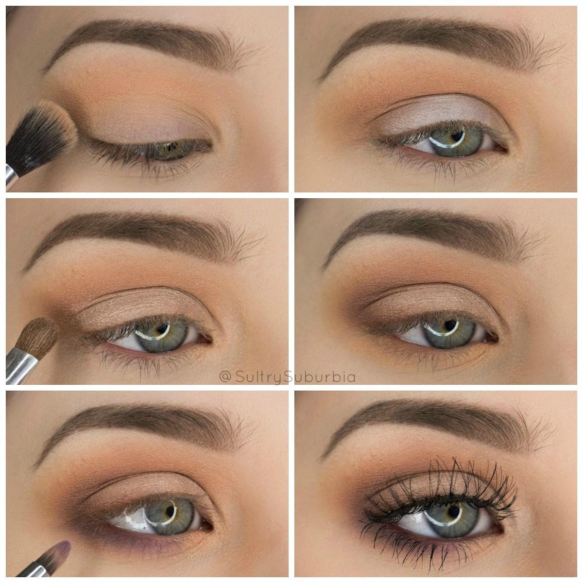 Simple Eye Makeup Tutorial Step Step Simple Pretty Eyeshadow Tutorial Sultry Suburbia