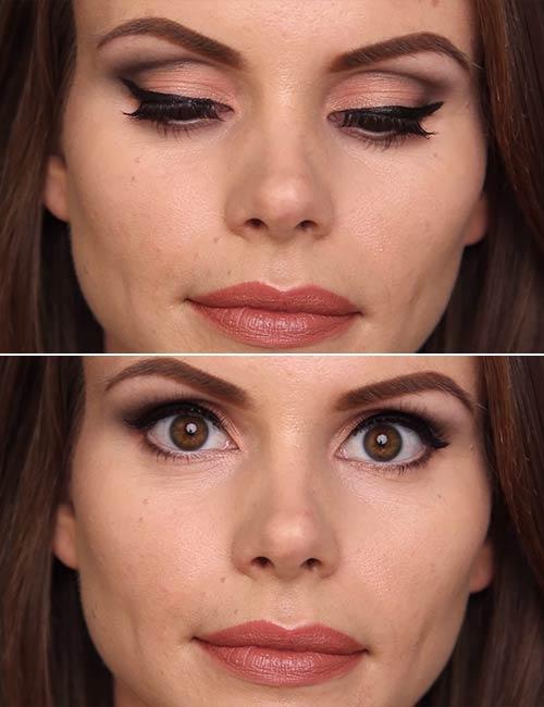 Socket Eye Makeup Eye Makeup For Deep Set Eyes Step Step Tutorial